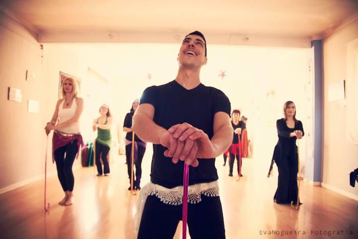 Academia de baile en Córdoba. Danza oriental, danza creativa.