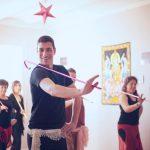 Curso de danza del bastón. Tarragona