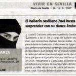 Presentación del espectáculo 'Sombras del Desierto'. 2007, Diario de Sevilla