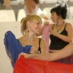 Clase de danza del velo en Crevillent