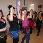 Clase de danza de las Gawazy en Tarragona