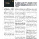 Entrevista a Zuel para la revista Gracia Oriental. Barcelona