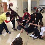 Taller de danza-teatro en el Aula de Danza de la Universidad de Córdoba