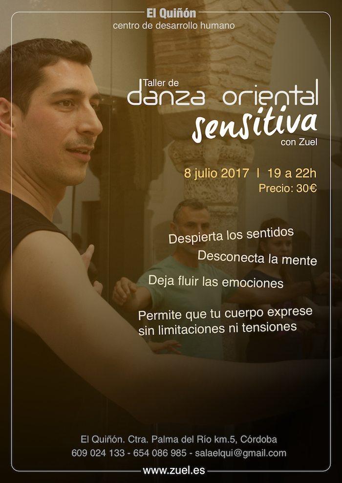 Taller de Danza Oriental en El Quiñón, Córdoba