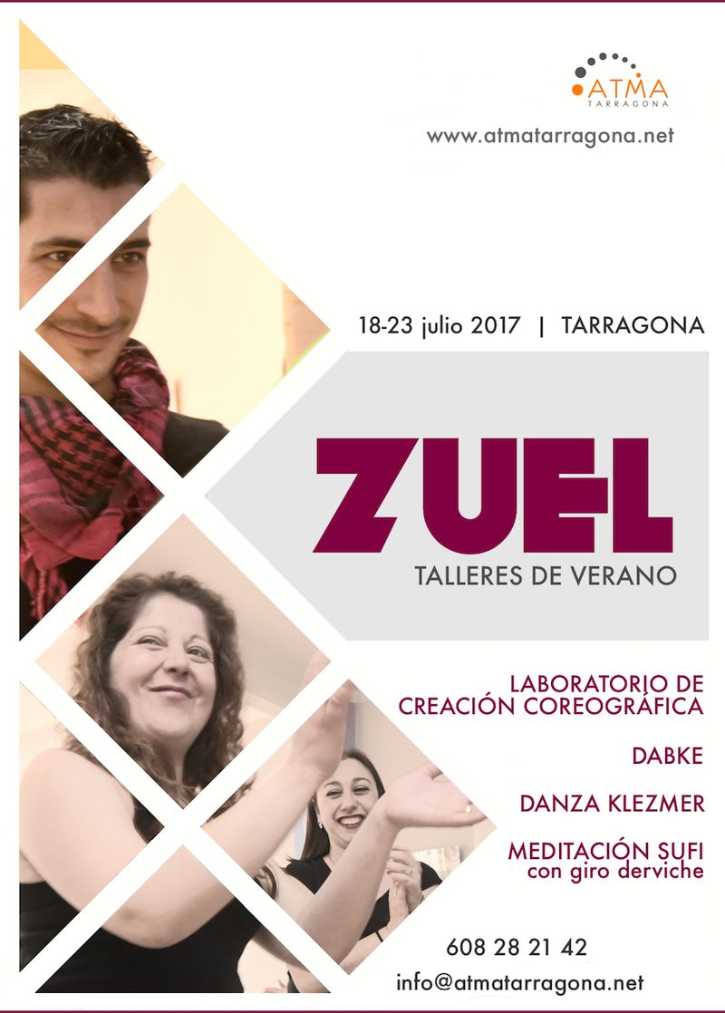 Cartel Zuel cursos verano 2017
