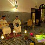 Música andalusí en el riad