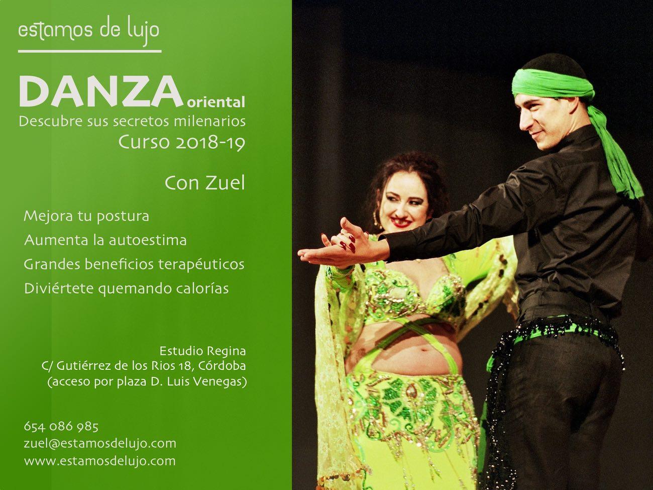 Clases danza oriental Córdoba 2018 19