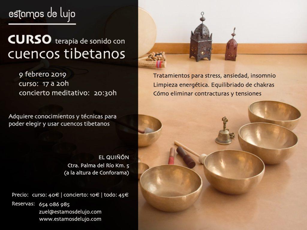 Curso de terapia de sonido con cuencos tibetanos